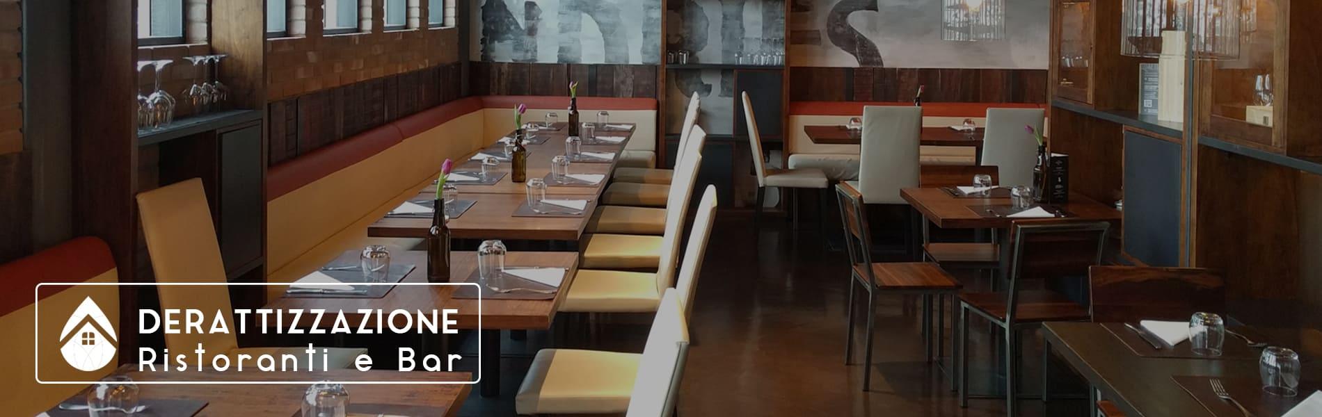 Derattizzazione topi nei ristoranti e bar | Emmada